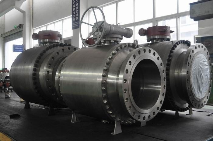 Trunnion Ball Valve Large Size Forged Steel Trunnion