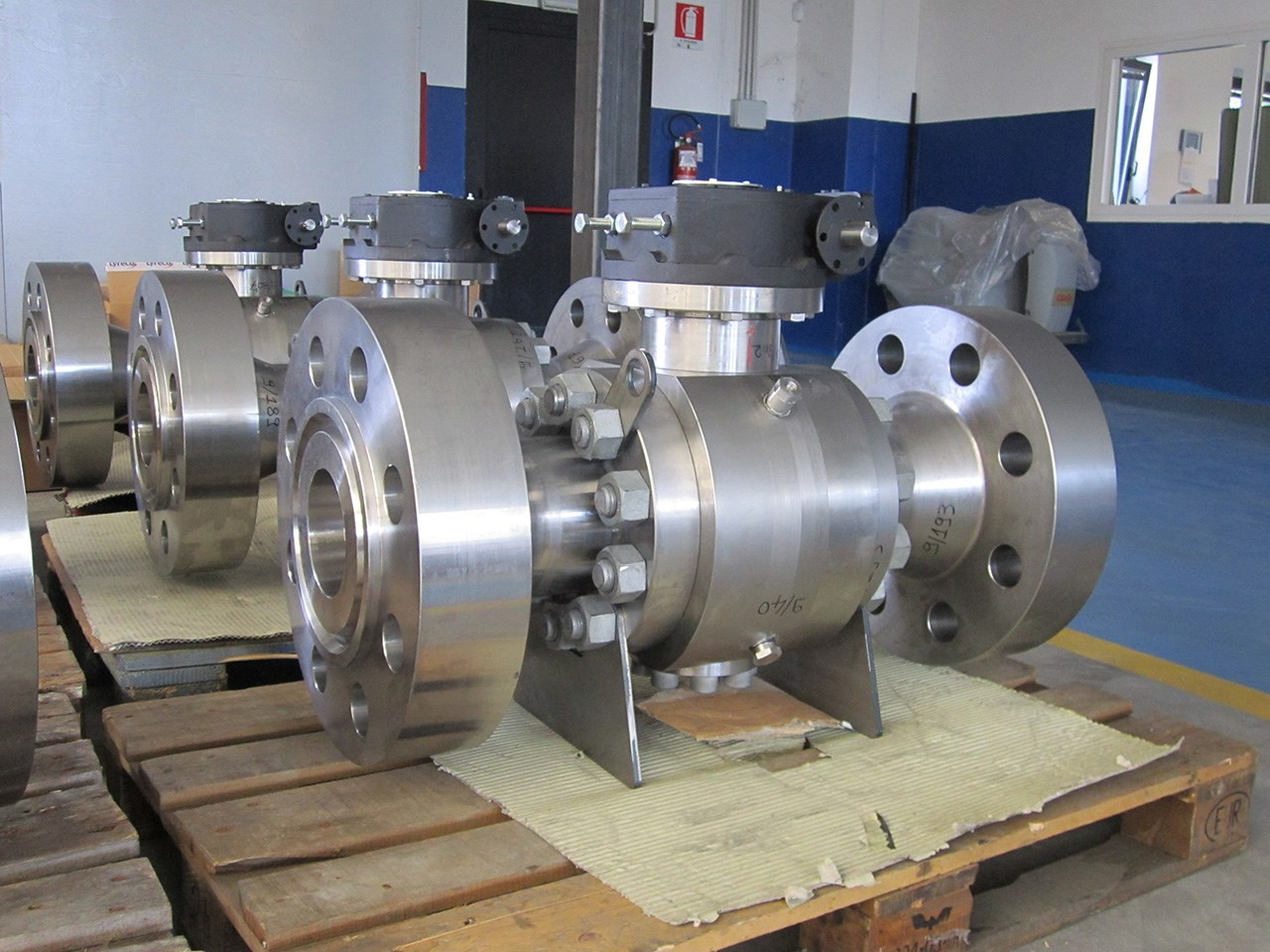 Trunnion Ball Valve Forged Steel Trunnion Ball Valve