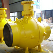 Spherical Fully Welded Ball Valve