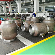 Gear Type Fully Welded Ball Valve