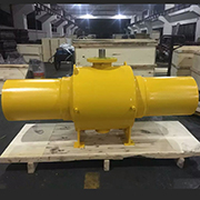 Long Extension Welded Ball Valve